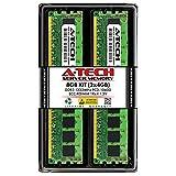 A-Tech 8GB (2 x 4GB) DDR3 1333 MHz PC3-10600R ECC RDIMM 1Rx4 1.5V ECC Registered DIMM 240-Pin Server & Workstation RAM Memory Upgrade Kit