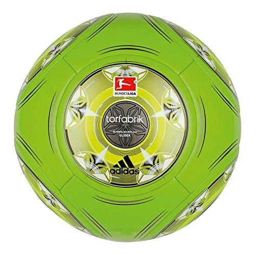 adidas Fußball Torfabrik 2013 DFL 13 Glider, Raygrn/Electr/Silver, 4, G73549