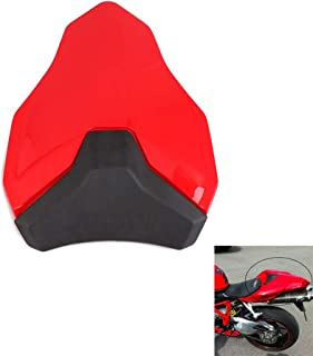 Motorcycle Rear Back Seat Cover Passenger Pillion Cowl Fairing For Ducati 848 1098 1198 Red