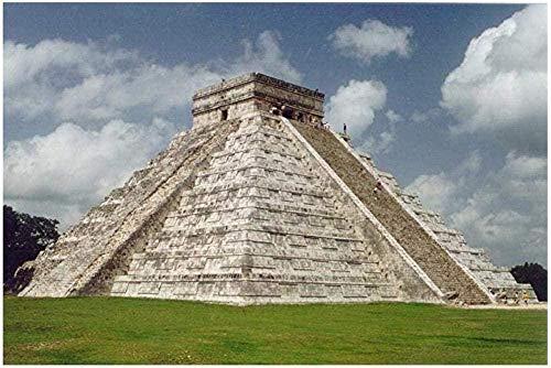 Piezas Puzzles Puzzles 3D Regalo De Cumpleaños Rompecabezas 1000 Pcs México-Pirámides De Gran Tamaño 1000 Piezas De Rompecabezas De Madera Decoraciones Y Regalos Únicos Para El Hogar Por