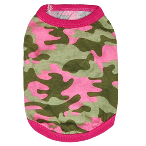 vêtements pour chien, Woodland Camouflage Cotton gilet Vêtements pour chien Teddy Vêtements pour animaux domestiques (XS-Bust:11.81\