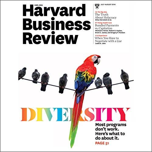 Harvard Business Review, July 2016 copertina