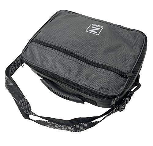 Zeekio Premium Yo-Yo Bag - Water Resistant, Removable Shoulder Strap, Lots of Pockets (Dark Grey)