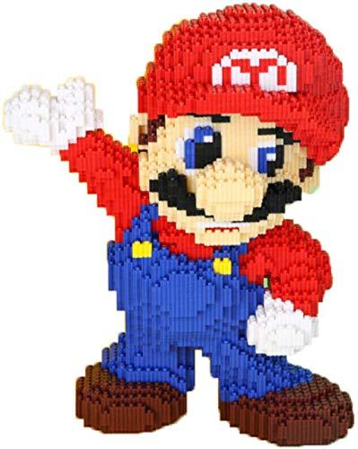 BBHH Super Mario Baustein 8498Pcs Nano Ziegelsteine Kinder Pädagogische Spielzeug Für Erwachsene Und...