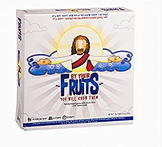 By Their Fruits Family Board Game Learning the Word of GOD