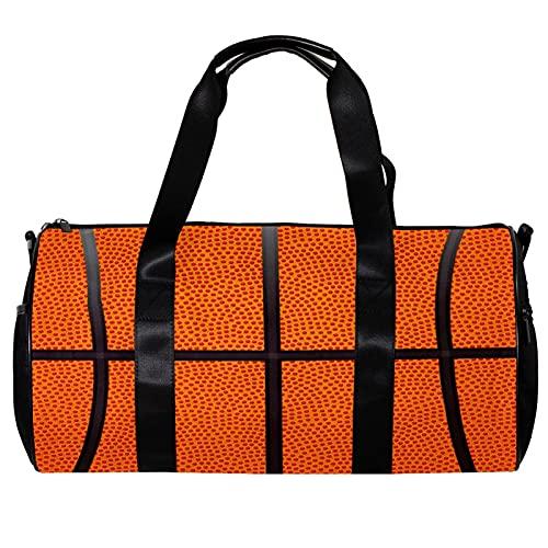 Runde Sporttasche mit abnehmbarem Schultergurt, Basketball-Sporttasche für Damen und Herren