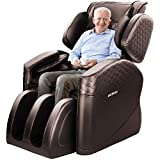 OOTORI 2020 Massage Chair, Zero Gravity Massage Chair, Full Body Massage Chair Recliner with 16 Air Bags and 4 Foot Rollers (brown)