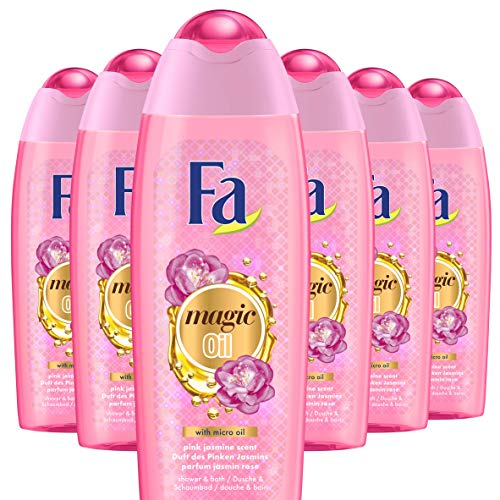 Fa Magic Oil Pink Jasmine Bad en Douchegel 500ml, 6 stuks