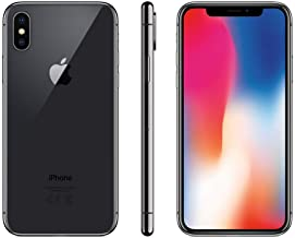Apple iPhone X 64GB - Gris Espacial - Desbloqueado (Reacondicionado)