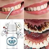 Zähne Weisser Machen, Huihong 10 ml Zahnaufhellung Hygiene Reinigung Zähne Pflege Zahnreinigung bleaching Wasser, um Teefleck, Kaffeefleck, Pigment Zähne, Zahnbelag zu entfernen.