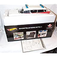 """1959 Cadillac Ambulance Ecto-1 From """"Ghostbusters 1"""" Movie 1/18 by Hotwheels BCJ75"""