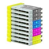 9 Druckerpatronen Tinte für Brother DCP130C DCP135C DCP150C MFC235C MFC680C ersetzen LC970 LC1000