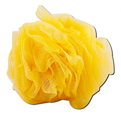 EcoTools Delicate Bath Sponge Assorted colors, Delacate Loofah Green, White, and Yellow (Pack of 6)