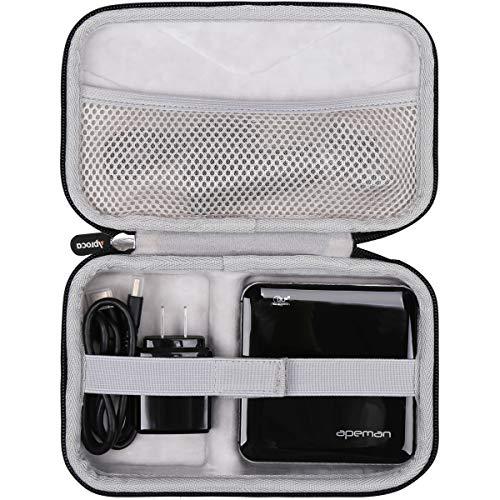 Aproca Hart Schutz Hülle Reise Tragen Etui Tasche für APEMAN Mini Beamer DLP Projektor M4(CASE ONLY)