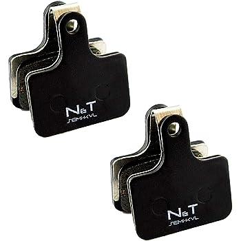 N/&T Shimano 105 R7020 BR R7070 XTR M9100 Semi Ceramic Sintered Disc Brake Pads