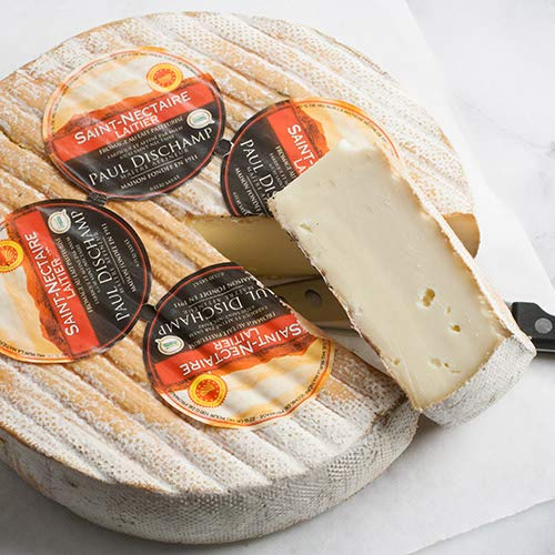 igourmet French Saint Nectaire Cheese AOP - Pound Cut (14 ounce)