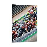 liutao Póster decorativo de Qatars MotoGP 2019 Y de 20 x 30 cm