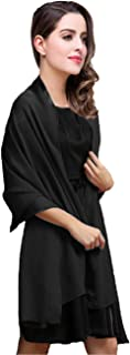 Chiffon Shawl Scarve Wraps and Shawls Soft Pashmina for Evening dresses on formal occasions