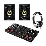 PIONEER DDJ200 SMART DJ CONTROLLER CON MONITOR E PACCHETTO PER CUFFIE