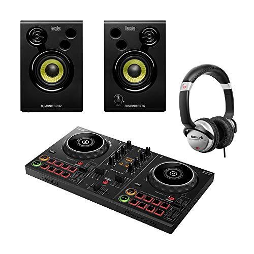 Pioneer DDJ200 Smart DJ-Controller mit Monitor und Kopfhörer