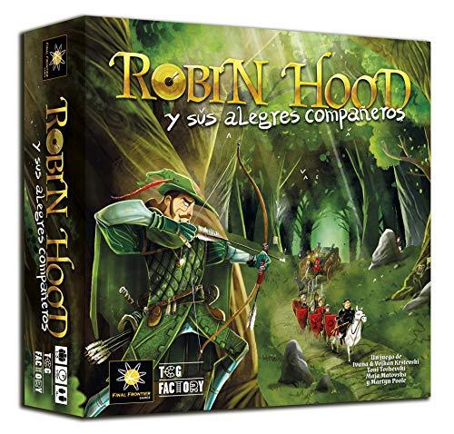 TCG Factory ROBIN HOOD Y SUS ALEGRES COMPAÑEROS Juego de mesa en español de estrategia y cooperativo para 1 a 5 jugadores