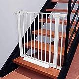 Barrera de Seguridad de Niños para Puertas y Escal Presión Fit seguridad del metal Escalera Puerta Soportes 78cm de altura El ancho se puede seleccionar de 63 a 201cm puerta for mascotas puerta del be