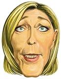 Cesar - F070-001 - Masque - Carton Marine Le Pen