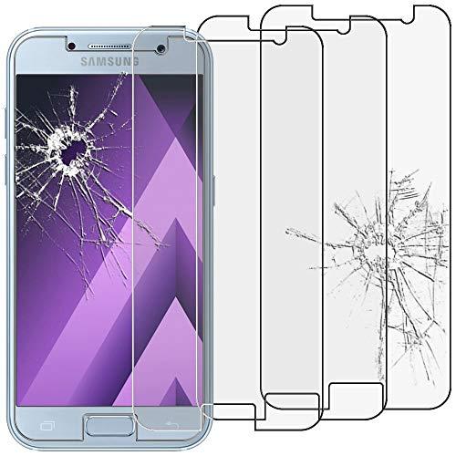 ebestStar - [Lote x3 Cristal Templado Compatible con Samsung A3 2017 Galaxy...