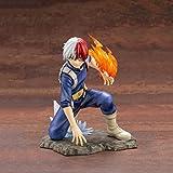 SYXISM Boku No Hero Academia Toy Estatua Todoroki Shoto Anime Modelo PVC Personaje Estático Estatua Artesanía Colección -16.5 Cm Estatua de Juguete