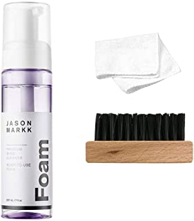 Unisex Ready-To-Use Foam Shoe Cleaner + Generic Shoe Brush and Cloth (Kit)