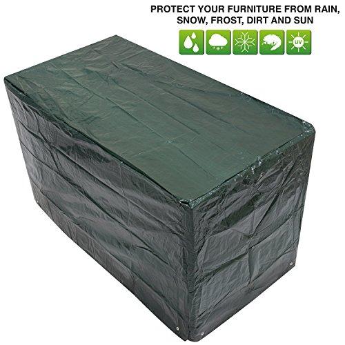 Woodside - Bâche/Housse de Protection pour Salon de Jardin Style bistrot (Table et chaises) - imperméable - Petite Taille