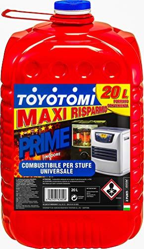 Toyotomi PRIME20L Combustibile Universale, Inodore 10, 20 Litri, Blu_20
