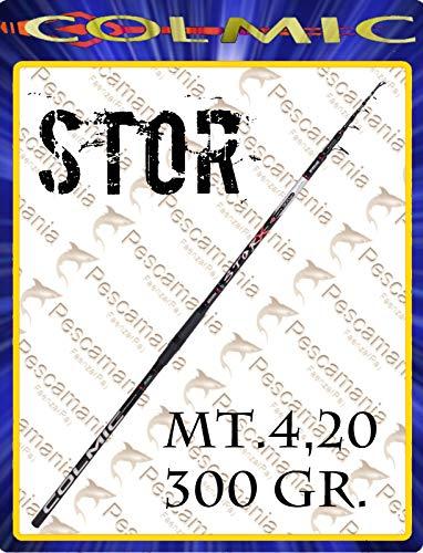 Colmic STOR 4.20 m 300 g Cañas de Pescar Siluro Esturión Pesca...