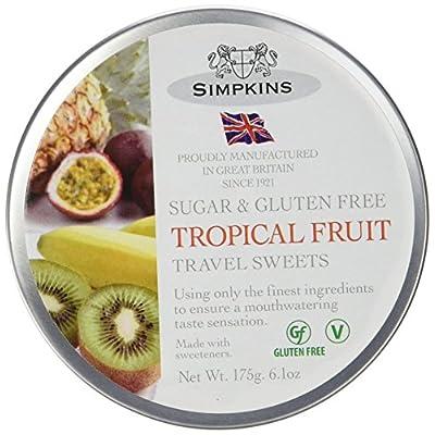 simpkins sugar free tropical fruit drops 175 g Simpkins Sugar Free Tropical Fruit Drops 175 g 51hKlinJBmL