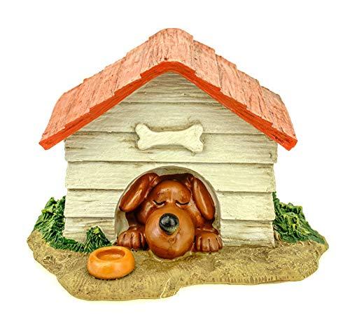 Udo Schmidt GmbH & Co. KG Hucha caseta para perros, 17 cm, poliresina, para perros, perros, hucha de animales, veterinario
