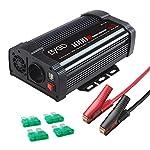 BYGD-1000W-Potenza-Invertitore-Onda-Pura-12V-a-230V-2-Porte-Smart-USB-1-Prese-AC-Convertitore-Potenza-per-AutoCamperBarca-a-Onda-Sinusoidale-Modificata