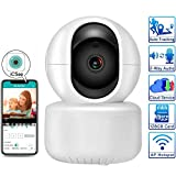 WiFi cámara IP 4 MP Monitor de bebé, 2,4 GHz 5 GHz de Doble Banda Wi-Fi, cámara de Seguridad, 2 Veces 1080P, 2-Way Audio visión alejada Push alertas de detección de Movimiento