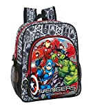 safta 612079640 Mochila Junior Niña Adaptable Carro Avengers, Multicolor