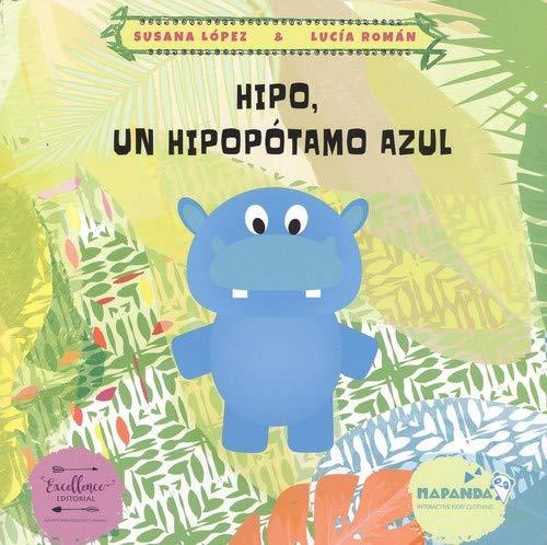 Hipo, un hipopótamo azul