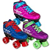 SFR Vision GT Childrens Quad Roller Skates - Purple Jnr 12