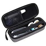 Aproca Hard Storage Travel Case, for Keto-Mojo Blood Ketone Test Strips Precision Measurement (Grey)