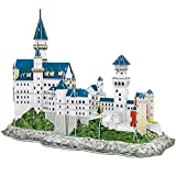 CubicFun 3D Neuschwanstein Castle Puzzles for Adults and Teens, Germany Architecture Building Model Kits Toys...