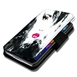 Book Style Flip Handy Tasche Hülle Schutz Hülle Schale Motiv Etui für Huawei Ascend Y330 - A52 Design7