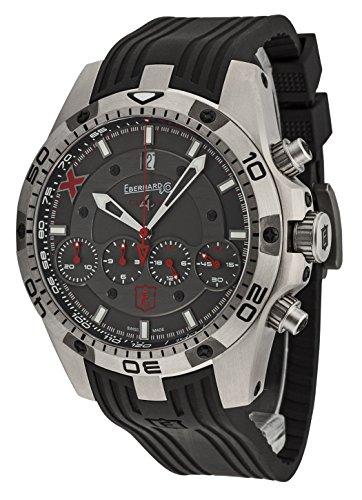 Eberhard&Co 37061.1 CU - Orologio da polso da uomo, cronografo 4 Geant - Titane X - Edition Limitee - Datario analogico automatico