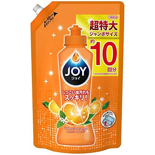 ジョイ『コンパクト 食器用洗剤 バレンシアオレンジの香り』