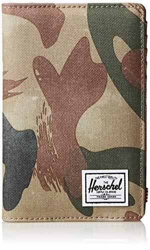 Herschel Search Passport Holder RFID, brushstroke camo