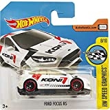 Hot Wheels Ford Focus RS HW Speed Graphics 8/10 (176/365) 2017 Short Card