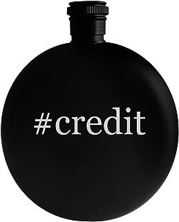 #credit - 5oz Hashtag Round Alcohol Drinking Flask, Black