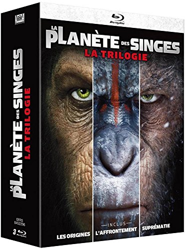 Planet of the Apes: An Trilogy [Blu-Ray]