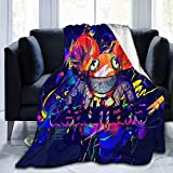 XuWeiWeiS Deadmau5 Flannel Fleece Blanket Super Soft Warm Cozy Lightweight Easy Care all Season Premium Bed Blanket Available in Three Sizes 50' X 40',60'x50',80'x60'inch